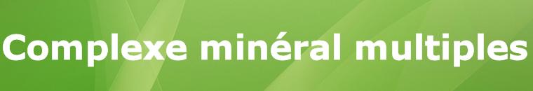 Complexe mineralen multiples