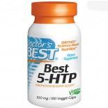 Best 5-HTP 100 mg (180 Veggie Caps ) - Doctor's Best