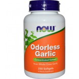 Now Foods, Odorless Garlic, Concentrated Extract, 250 Softgels
