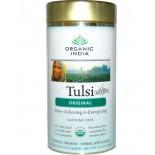 Organic India, Tulsi thé, feuilles mobiles Blend, Original, sans caféine, 3,5 oz (100 g)