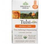 Organic India, Tulsi Holy Basil Tea, Masala Chai, 18 Infusion Bags (37.8 g)