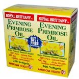American Health, Royale Bretagne huile d'onagre 500 mg, 2 bouteilles, 200 gélules chaque