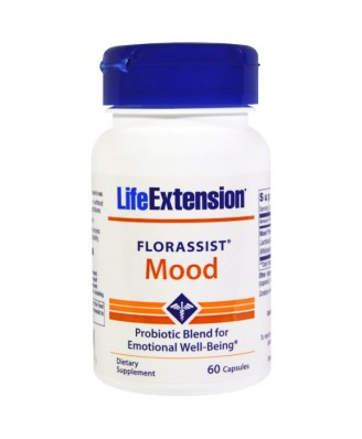 Florassist Mood (60 Capsules) - Life Extension