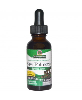 Saw Palmetto, Alcohol-Free, 2000 mg (30 ml) – Nature's Answer