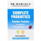 Complete Probiotics Powder Packets Natural Raspberry Flavor, 30 Packets (3.5 g each) - Dr. Mercola
