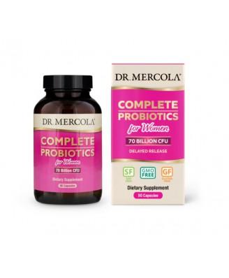 Complete Probiotics for Women (70 Billion CFU) (90 capsules) - Dr. Mercola