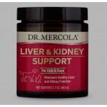 Foie et rein de soutien pour animaux de compagnie (39 g) - Dr. Mercola