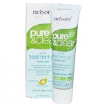 Nelsons Pure et claire de l'acné Gel - 1 oz