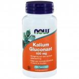 Now Foods, KALIUMGLUCONAAT, 99 mg, 100 tabletten