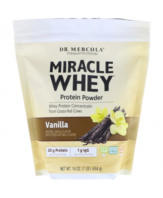 Miracle Whey - Protein Powder Vanilla (454 Gram) - Dr. Mercola