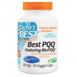 Doctor's Best, Best PQQ, 20 mg, 30 capsules Veggie