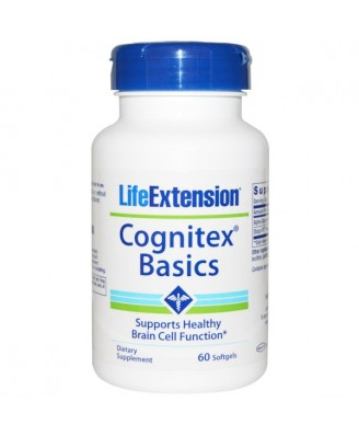 Cognitex Basics (60 Softgels) - Life Extension