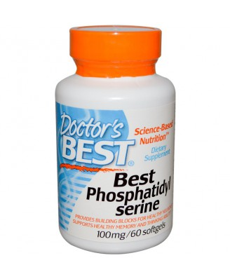 Best Phosphatidylserine 100 mg (60 Softgels) - Doctor's Best