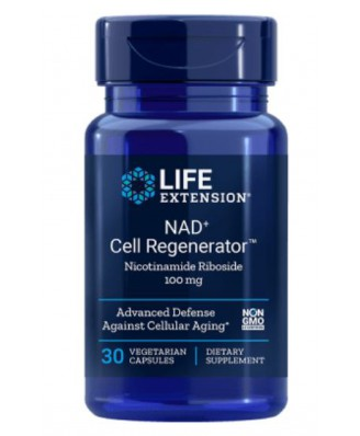 Nad + Cell Regenerator Nicotinamide Riboside 100 Mg - 30 vegetarische Capsules - Life Extension
