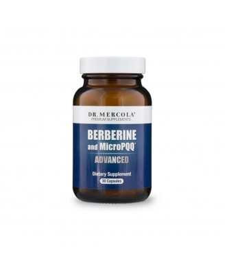 Berberine & MicroPQQ Advanced (30 capsules) - Dr Mercola