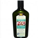 Avalon Organics, Shampooing, arbre à thé traitement du cuir chevelu (325 ml)