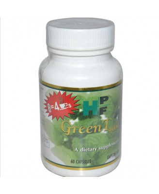 Healthy Origins, Vert T 4 000, exempt de caféine, 60 Capsules