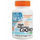 High Absorption CoQ10 with BioPerine 400 mg (60 Veggie Caps) - Doctor's Best