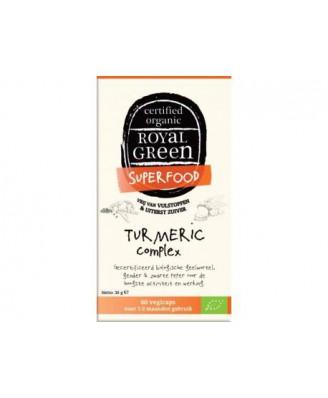 Turmeric Complex Organic – 60 vcaps – Royal Green