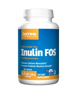 Jarrow Formulas, Inulin FOS, 6.3 oz (180 g) Powder