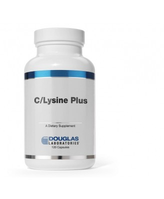 C/Lysine Plus (120 tablets) - Douglas Laboratories