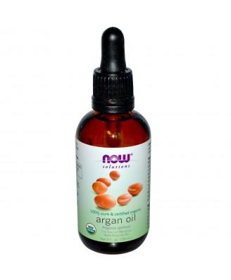 Organic Argan Oil (59 ml) - Now Foods