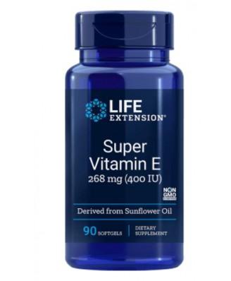Natuurlijke vitamine E 400 Iu - 100 gelcapsules - Life Extension