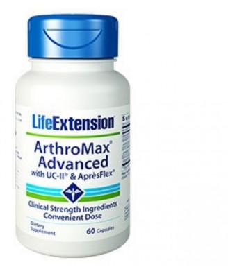 Arthromax Avancé Avec Uc-Ii Et Aprèsflex - 60 Capsules - Life Extension