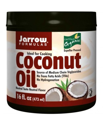 Jarrow Formulas, Organic Coconut Oil, 16 oz (473 g)