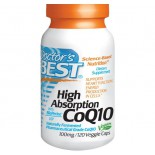 Hoge Opname CoQ10, 100 mg (120 Veggie Caps) - Doctor's Best