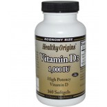 Vitamin D3 1000 IU (360 Softgels) - Healthy Origins