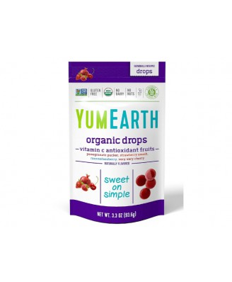 Organic Vitamin C Drops Anti-Oxifruits (93 Gram) - Yummy Earth