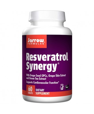 Resveratrol Synergy (60 tablets) - Jarrow Formulas