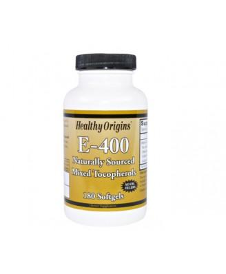 Healthy Origins, E-400, 180 gélules