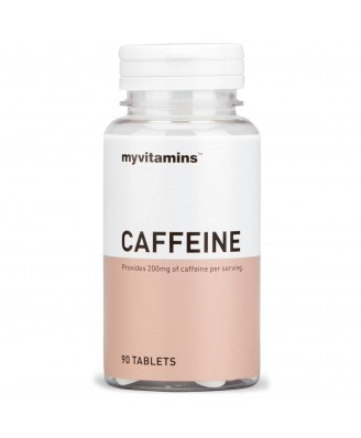 Caffeine (90 Tablets) - Myvitamins