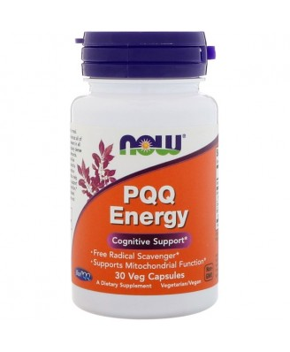 Now Foods, PQQ Energy, 30 Veg Capsules