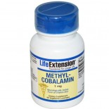 Life Extension, Methylcobalamin, 1 mg, 60 Veggie Lozenges