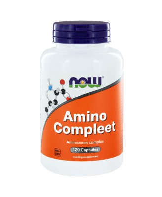 Amino Compleet (120 caps) - NOW Foods