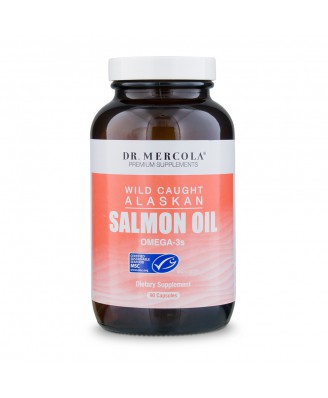 Dr. Mercola, Virgin Salmon Oil, 90 Softgels