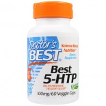 Best 5-HTP, 100 mg (60 Veggie Caps) - Doctor's Best