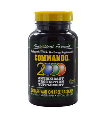Commando 2000 Antioxidant Protection (90 Tablets) - Nature's Plus