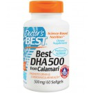 Doctor's Best, Best DHA 500, from Calamari, 500 mg, 60 Softgels