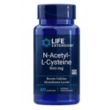 N-Acetyl-L-Cysteine 600 mg 60 Capsules - Life Extension
