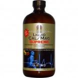 Liquid Cal/Mag Supreme, Natural Vanilla, Strawberry and Banana Flavors (480 ml) - Nature's Answer
