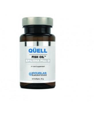 Réprimer l'huile de poisson - haute EPA + DHA w/vitamine D3 (30 comprimés) - Douglas Laboratories