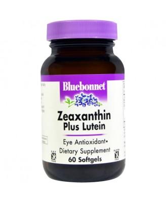 Zeaxanthin Plus Lutein (60 softgels) - Bluebonnet Nutrition