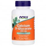 Calcium D-Glucarate 500 mg (90 Vegetarian Capsules) - Now Foods