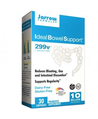 Jarrow Formulas, Ideal Bowel Support, 299v, 30 Veggie Caps