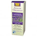 Revitaliserende Oog Gel, Lavendel Luminosity (28 g) - Avalon Organics