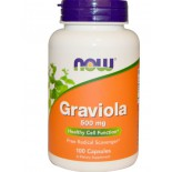 Graviola 500 mg (100 Capsules) - Now Foods